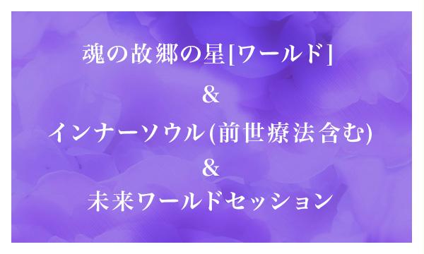 魂の故郷の星[惑星]ワールド&インナーソウル(前世療法含む)&未来ワールドセッション